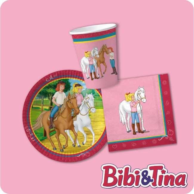 Bibi und Tina Partydeko bei Spielzeugwelten