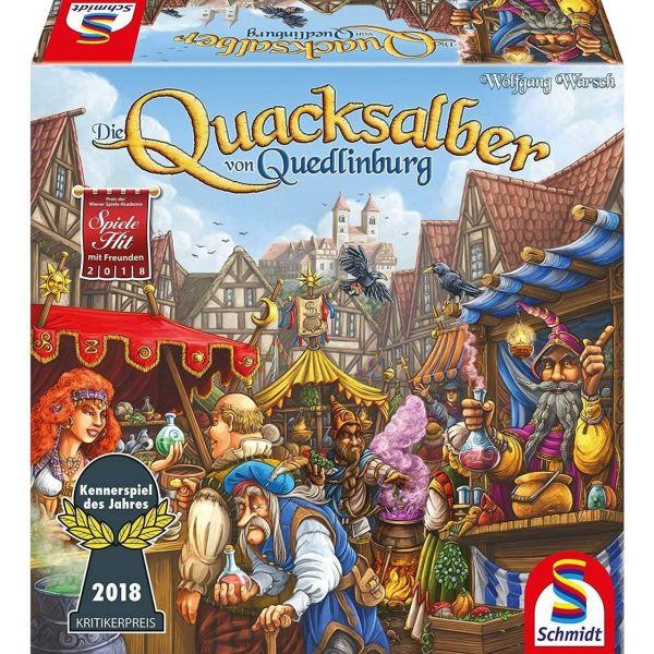 SCHMIDT 49341 - Familienspiel - Die Quacksalber von Quedlinburg