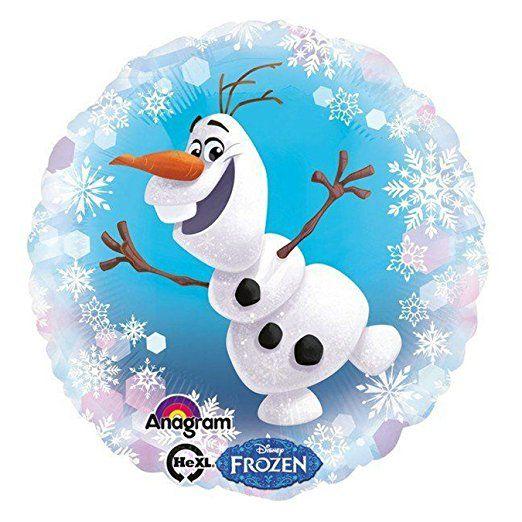 ANAGRAM 30648 - Folienballon - Disney Frozen, Olaf, 43cm