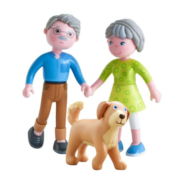 HABA 306147 - Little Friends - Spielset Großeltern