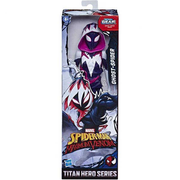 HASBRO E8730 - Spider Man - Titan Hero Maximum Venom, GHOST-SPIDER