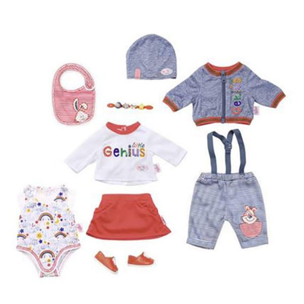 385cc9b3 Zapf Creation 826928 - BABY born® Deluxe Bekleidung - Mix&Match Set, ...
