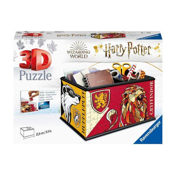 RAVENSBURGER 11258 - 3D Puzzle - Aufbewahrungsbox Harry Potter, 216 Teile
