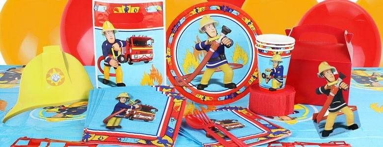 Partydeko Feuerwehrmann Sam bei Spielzeugwelten