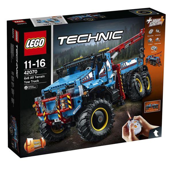 LEGO 42070 - Technic - Allrad-Abschleppwagen