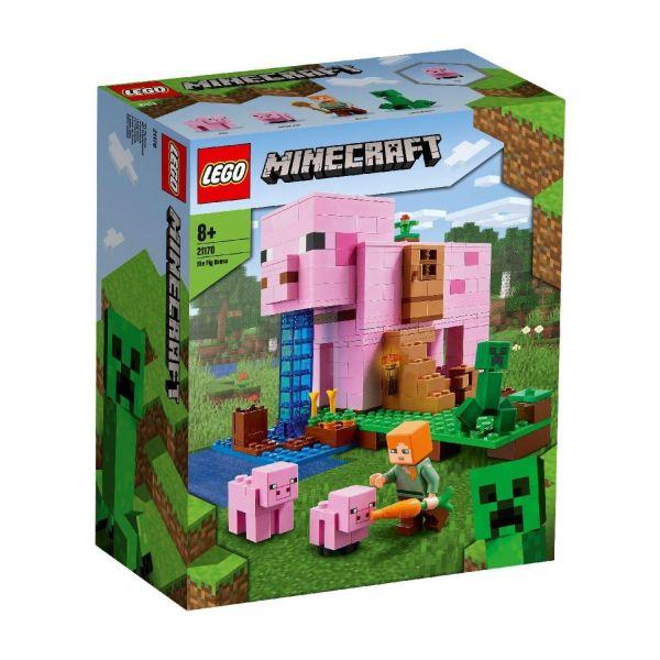 LEGO 21170 - Minecraft™ - Das Schweine-Haus