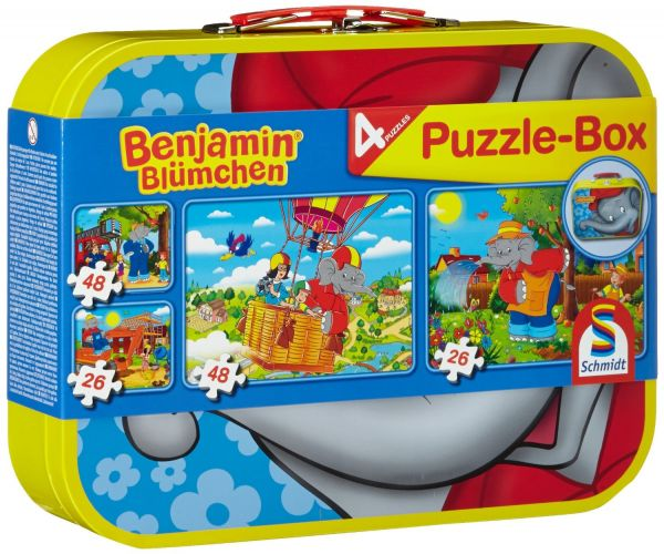 SCHMIDT 55594 - Puzzle Koffer - Benjamin Blümchen