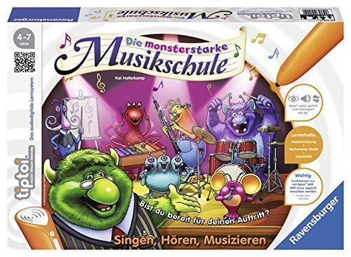 RAVENSBURGER 555 - tiptoi Spiel - Die monsterstarke Musikschule