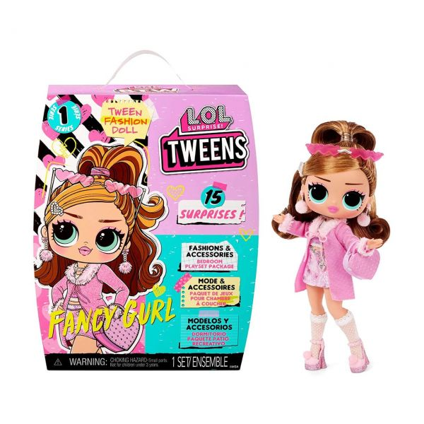 MGA 576679E7C - L.O.L. Surprise - Tweens Doll, FANCY GURL, 15cm