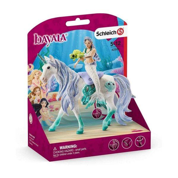 SCHLEICH 42509 - Bayala - Meerjungfrau auf Meereseinhorn