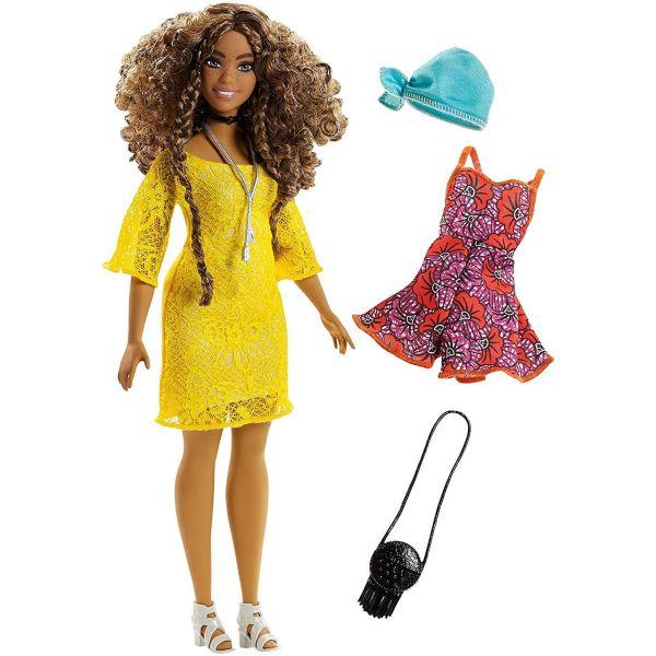 MATTEL FJF70 - Fashionistas - Barbie mit Geschenkeset
