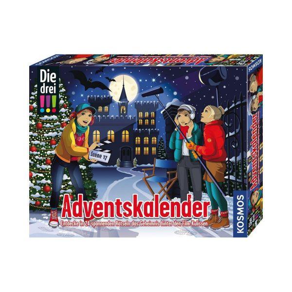 KOSMOS 630577 - Adventskalender - Die Drei !!!, 2021
