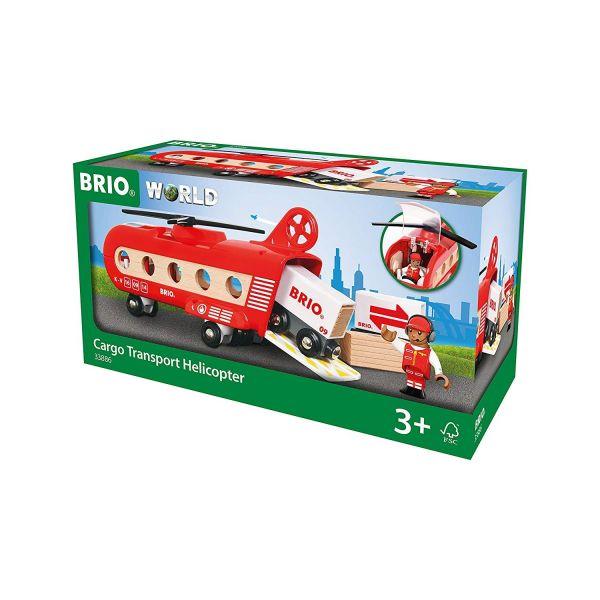 BRIO 33886 - Bahn - Eisenbahn-Transporthubschrauber
