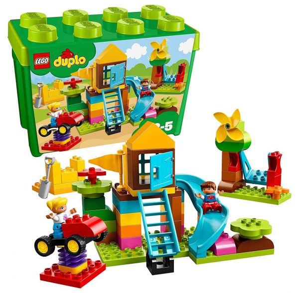 LEGO 10864 - Duplo - Steinebox mit großem Spielplatz