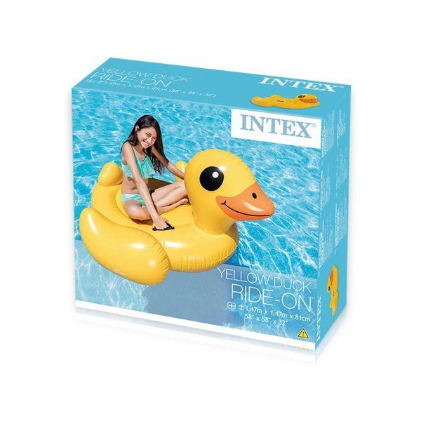 INTEX 57556NP - Schwimmtier - Ente, 147 X 147 X 81 cm