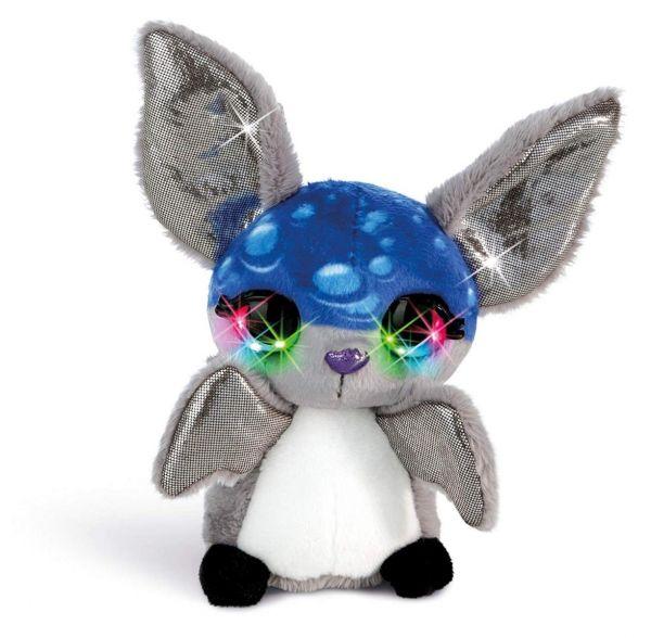 NICI 42471 - Nicidoos Flashies - Bubble Bat Fledermaus Pipp Classic, 16 cm