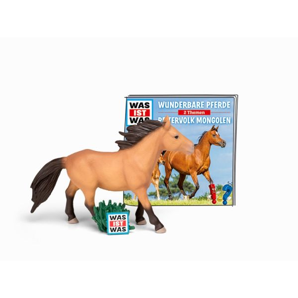 TONIES 10039 - Wissen - WAS IST WAS, Wunderbare Pferde, Reitervolk Mongolen