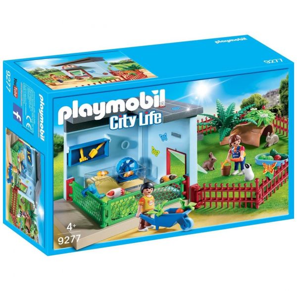 PLAYMOBIL 9277 - City Life Tierhotel - Kleintierpension