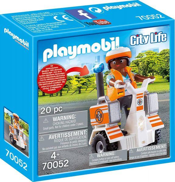 PLAYMOBIL 70052 - City Life Rettung - Rettungs-Balance-Roller