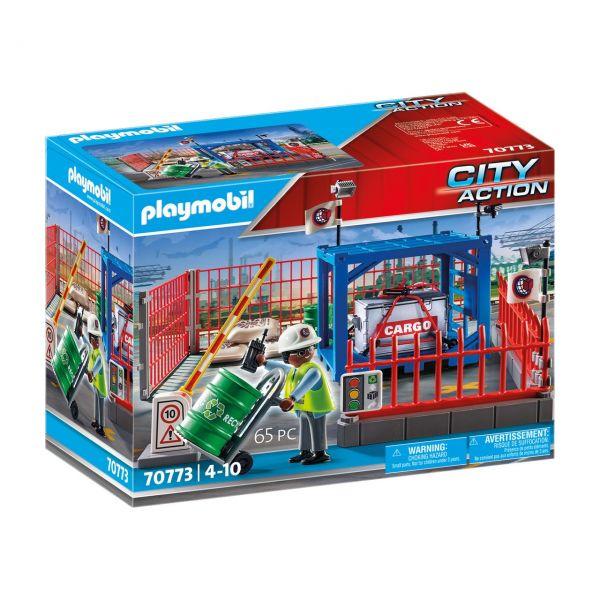 PLAYMOBIL 70773 - City Action - Frachtlager