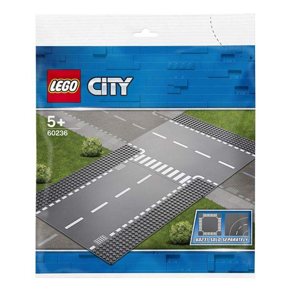 LEGO 60236 - City - Gerade und T-Kreuzung