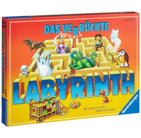 RAVENSBURGER Spiel 264469 - Das verrückte Labyrinth