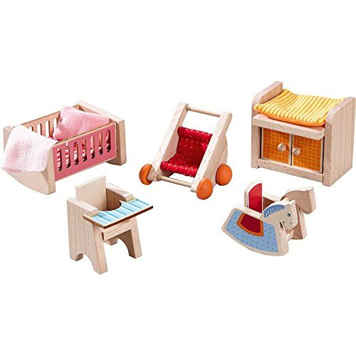 HABA 301989 - Little Friends - Puppenhaus-Möbel Kinderzimmer