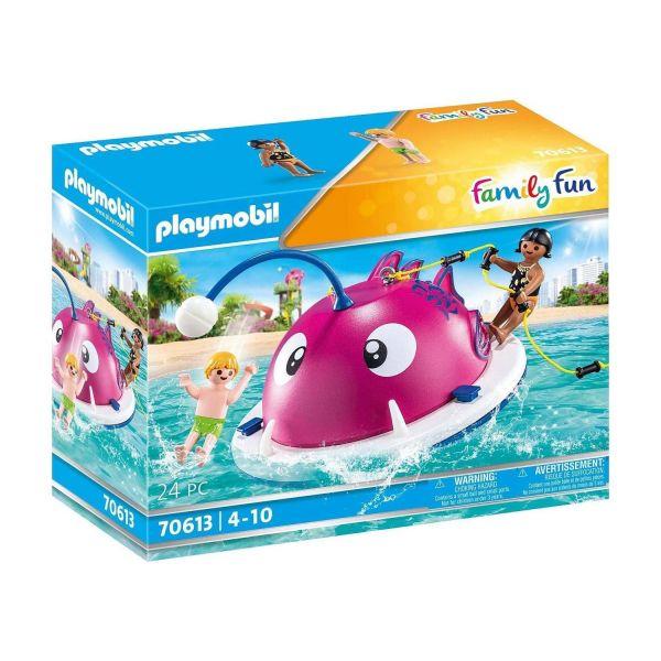 PLAYMOBIL 70613 - Family Fun - Kletter-Schwimminsel