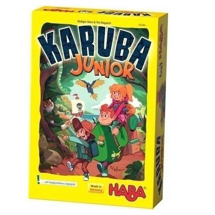 HABA 303406 - Mitbringspiel - Karuba Junior (Kinderspiel)