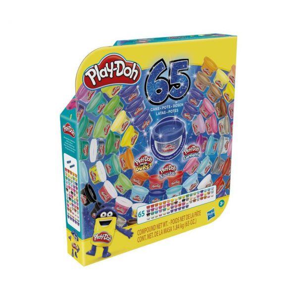 HASBRO F1528 - Play-Doh - 65 Jahre Vielfalt Pack