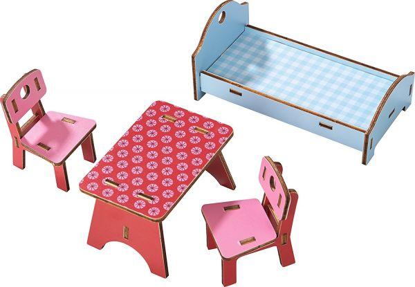 HABA 303001 - Little Friends - Puppenhaus-Möbel Bauernhaus