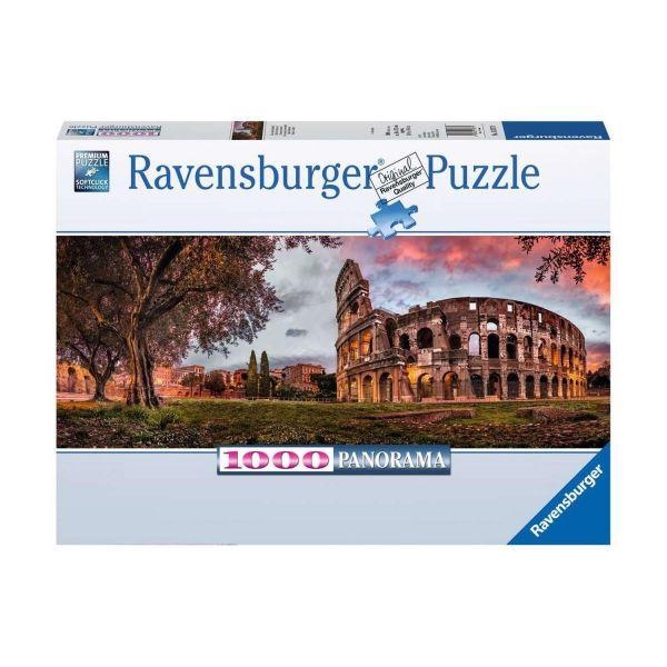 RAVENSBURGER 15077 - Puzzle - Colosseum im Abendrot, 1000 Teile