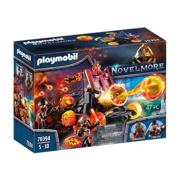 PLAYMOBIL 70394 - Novelmore - Burnham Raiders Lavabombarde