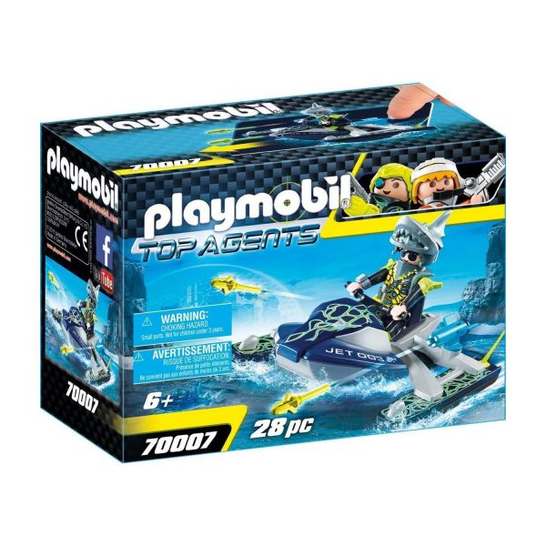 PLAYMOBIL 70007 - Top-Agents - TEAM S.H.A.R.K. Rocket Rafter