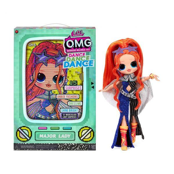 MGA 117889E7C - L.O.L. Surprise O.M.G. - Dance Doll, Major Lady