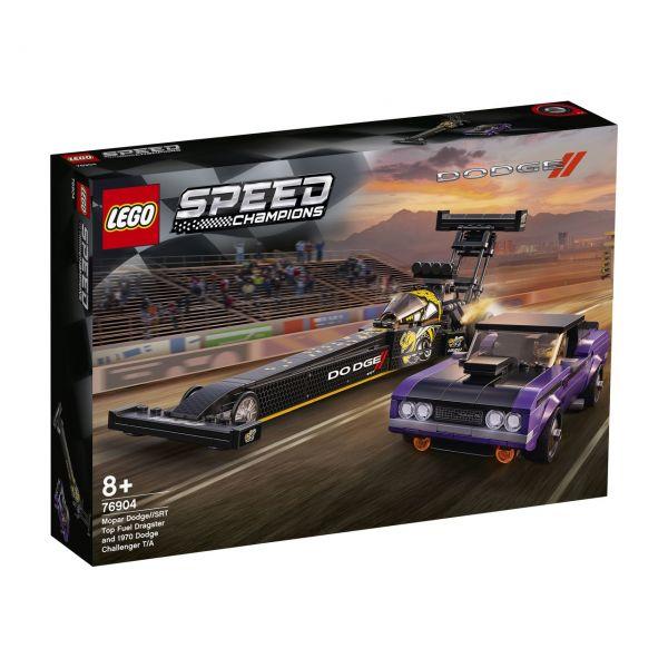 LEGO 76904 - Speed Champions - Mopar Dodge SRT Dragster & 1970 Dodge Challenger