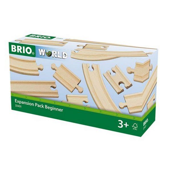 BRIO 33401 - Bahn - Kleines Schienensortiment
