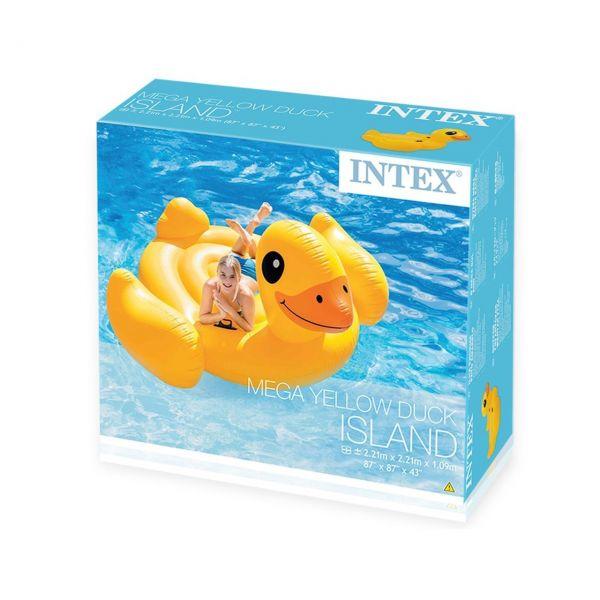 INTEX 56286 - Aufblasbare Figur - Ente, 221 X 221 X 109 cm