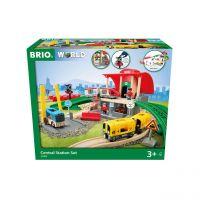 BRIO 33989 - Stationen - Großes City Bahnhof Set