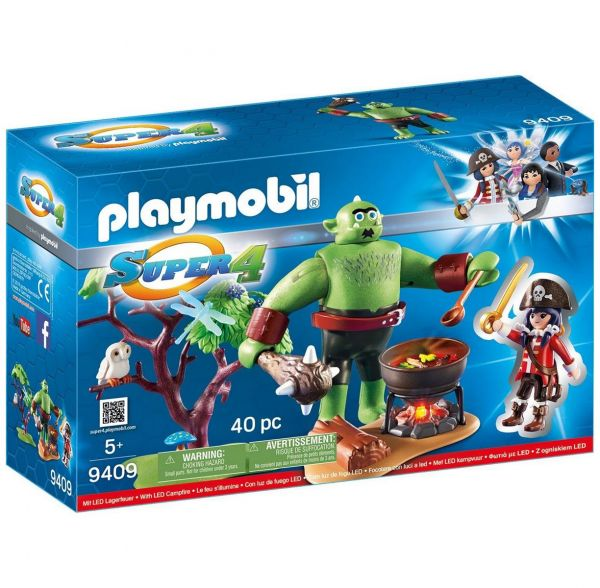 PLAYMOBIL 9409 - Super 4 - Riesen-Oger mit Ruby