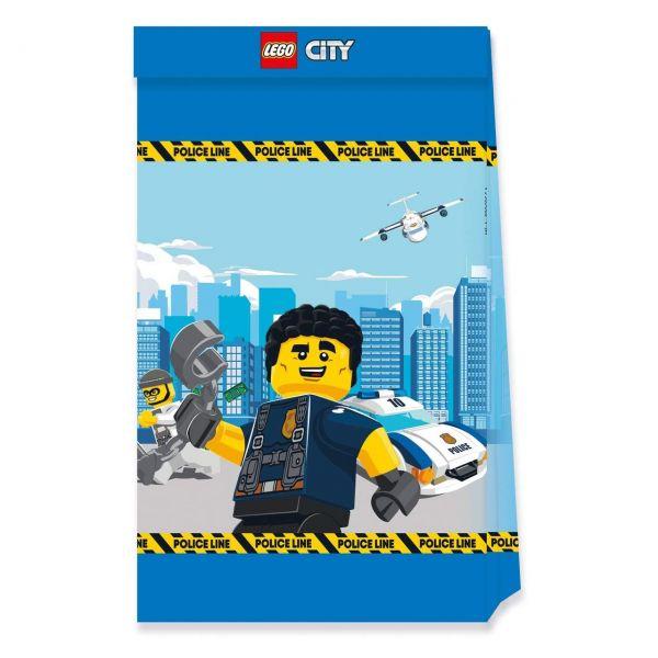 PC 50292249 - Geburtstag & Party - LEGO City, Partytüten, 4 Stk.