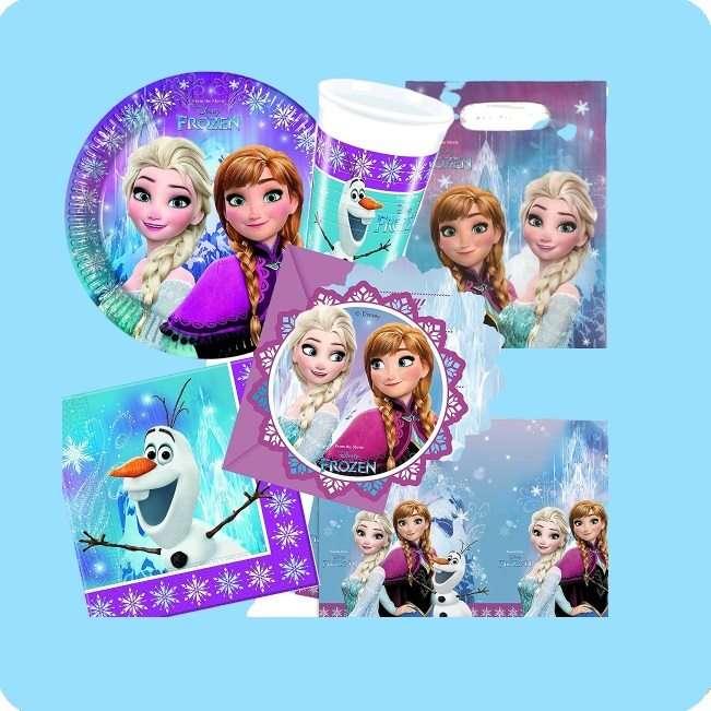 Partydeko Disney Frozen Eiskönigin bei Spielzeugwelten