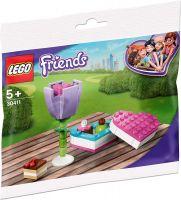 LEGO 30411 - Friends - Pralinenschachtel & Blume