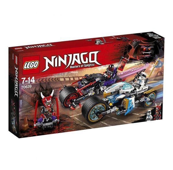 LEGO 70639 - Ninjago - Straßenrennen des Schlangenjaguars