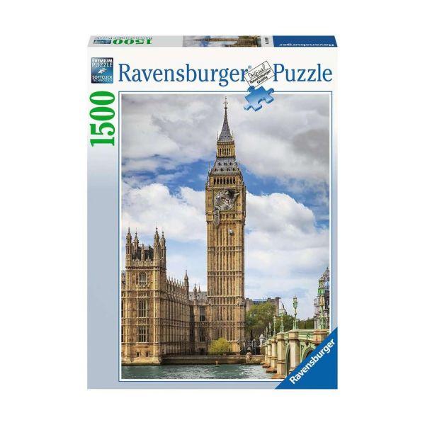 RAVENSBURGER 16009 - Puzzle - Findus am Big Ben, 1500 Teile
