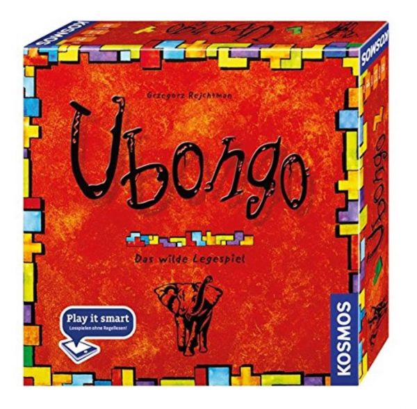 KOSMOS 692339 - Gesellschaftsspiel - Ubongo, Neue Edition