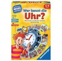 RAVENSBURGER 24995 - Spielend neues Lernen - Wer kennt die Uhr?
