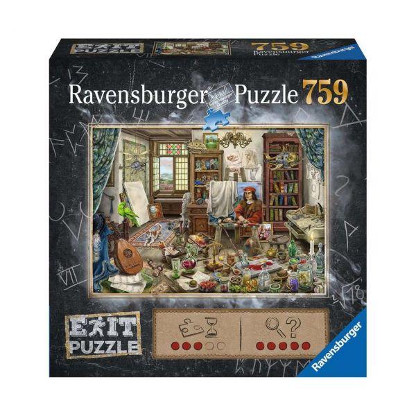 RAVENSBURGER 16782 - Puzzle - Exit: Das Künstleratelier, 759 Teile