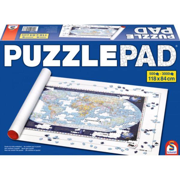 SCHMIDT 57988 - Puzzlezubehör - PuzzlePad für 500 bis 3000 Teile, 118 x 84 cm