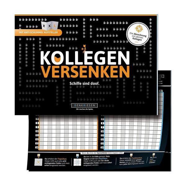 DENKRIESEN FV3002 - Gesellschaftsspiel - Kollegen versenken